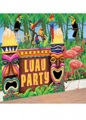 Luau Party Scene Setter