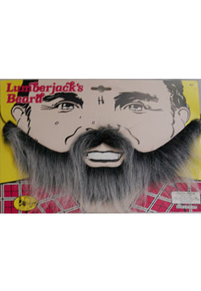 Lumberjacks Beard Black/Grey