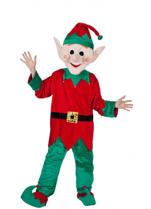 Santa Helper (Elf) Mascot