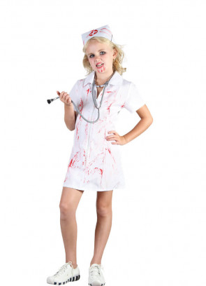 Mad Nurse (Girls) Costume