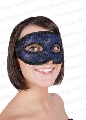 Majestic Blue Eye Mask