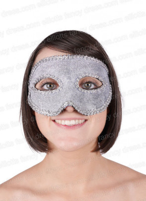 Majestic Silver Eye Mask