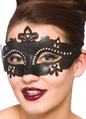 Amelia Eye Mask (Black)
