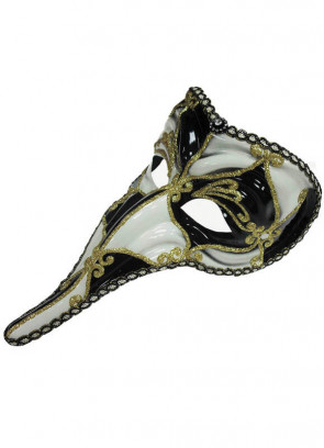 Nasone Eye Mask (Cream and Black)