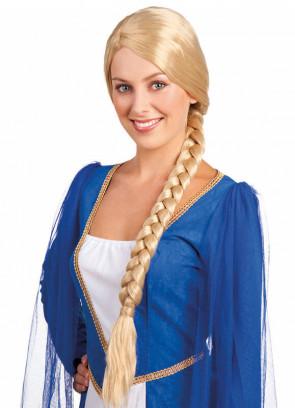 Medieval Lady Catherine - Blonde Wig 65cm plait