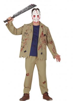 Mens Hockey Mask Killer Costume