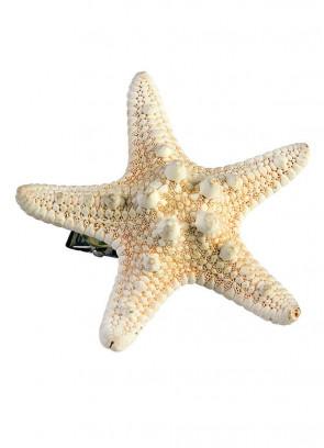 Mermaid Starfish Hair Clip