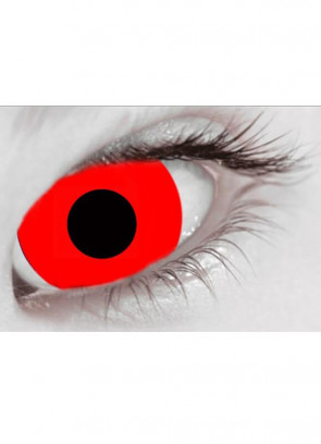 Bloody Red Mini Sclera Contact Lenses (17mm) One Day Wear