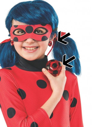 Miraculous Ladybug Yoyo & Earrings