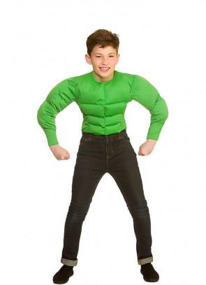 Green-Muscle Shirt - Kids