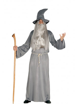 Grey Mythical Wizard