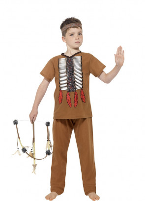 Native American Warrior - Boys Costume