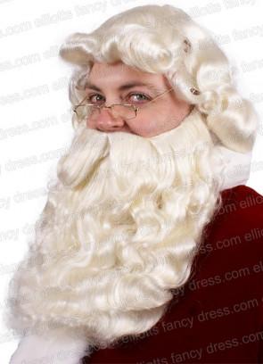 Santa Beard and Wig (Natural Colour)