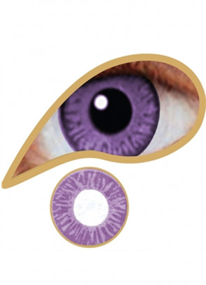 Lavender Coloured Contact Lenses - One Day Wear