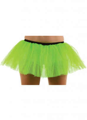 Neon Green Tutu - 3 Layer Dress Size 6-12