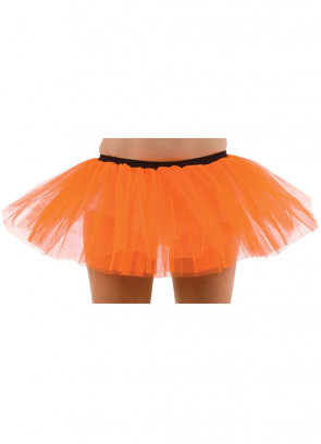 Neon Orange Tutu - 3 Layer - Dress Size 6-12