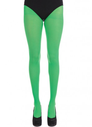 Green Tights - Dress Size 6-14