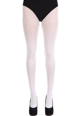 White Tights - Dress Size 6-14