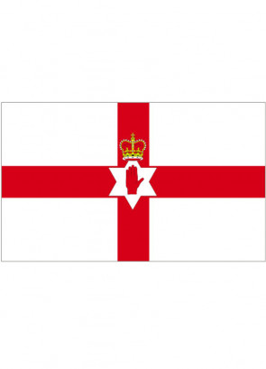 Red Hand of Ulster ( Northern Ireland) Flag 5x3