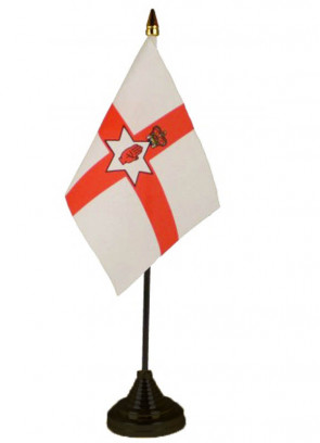 Red Hand of Ulster (Northern Ireland) Table Flag