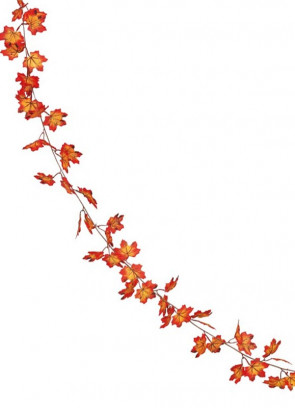 Autumn Leaves Garland 190cm