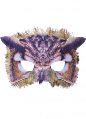 Owl Mask (Realistic Fur)