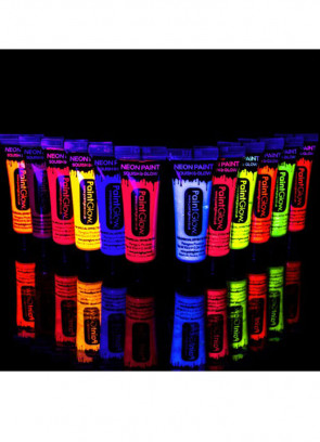 PaintGlow Neon UV Face Paint 10ml