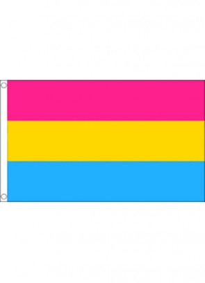 Pansexual Pride Flag 5x3