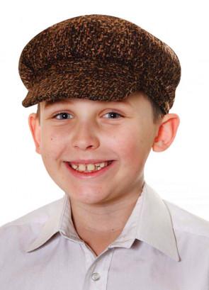 Kids Paperboy Tweed Cap