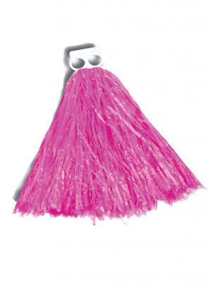 Small Pink Pom Poms 2pcs