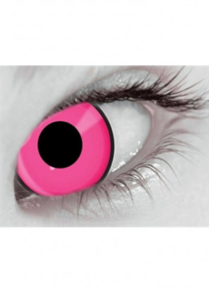 Climax Pink UV Contact Lenses - 3 Month Wear