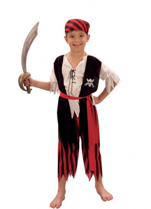 Pirate Boy Striped Trousers