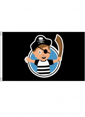 Pirate Boy Flag 5x3