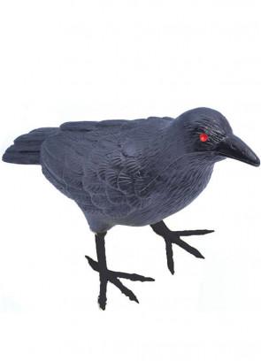 Plastic Crow / Raven 21cm Long