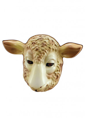 Lamb (Sheep) Plastic Mask *