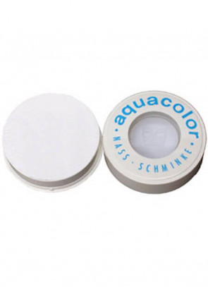Kryolan Professional Stage Makeup Aquacolor White 070 Face Paint 30ml