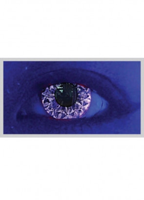 Violet Kiss Glitter UV Contact Lenses - 3 Month Wear