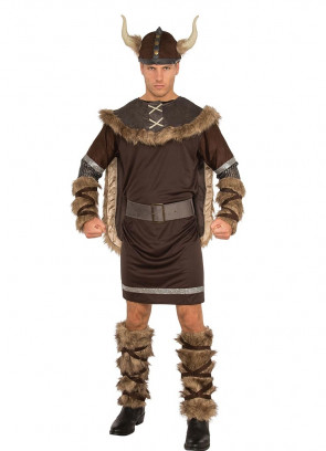 Viking Costume - Fur Cape