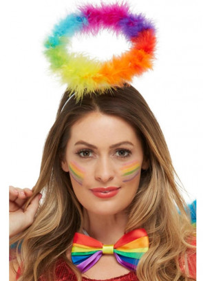 Pride Rainbow Angel Halo