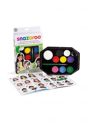 Snazaroo Rainbow Face Painting Kit – Green Box
