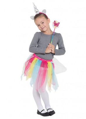Rainbow Unicorn Tutu Kit