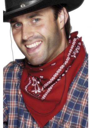 Cowboy Bandana (Red)