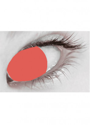Red Blind Contact Lenses - One Day Wear