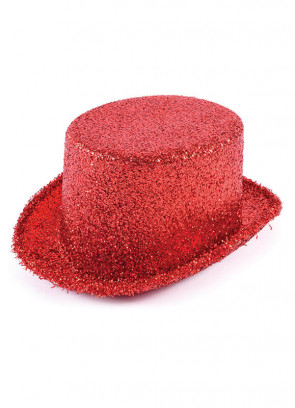 Top Hat Red Tinsel