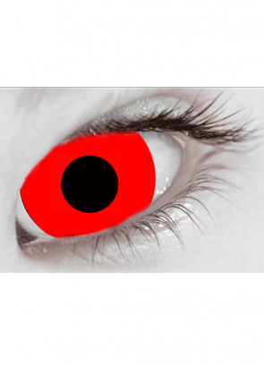 Bloody Red Mini Sclera Contact Lenses (17mm) - 30 Day Wear