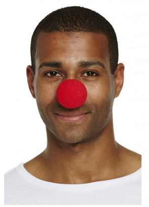 Red Soft Clown Nose