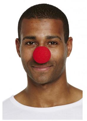 Red Soft Clown Noses x 24pcs