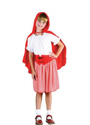 Red Riding-Hood (Girls) Costume