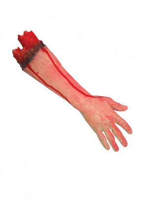 Cut Off Rubber Bloody Arm - 45cm