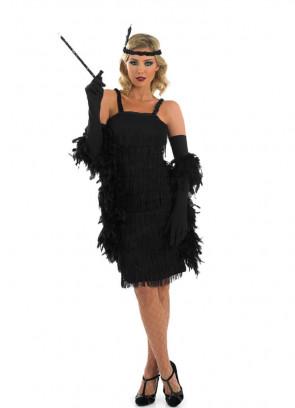 Roaring 20's Flapper (Black) Costume